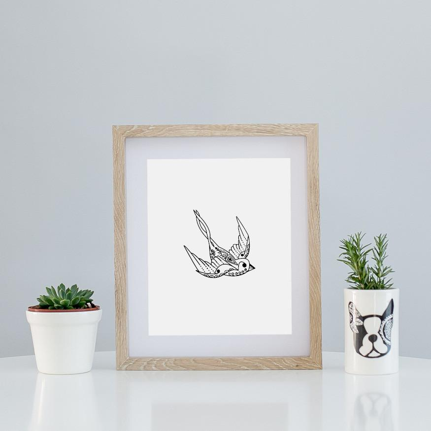 Limited Art A4 Print - Flying Solo