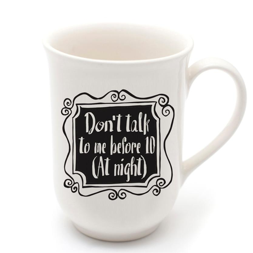 Funny Coffee Mugs - Sleepy head quirky ceramic cup online - Sugar and Vice - Cape Town