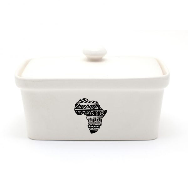 Buy Butter Dishes Online - Handmade Africa ceramic butter dish online - Sugar and Vice