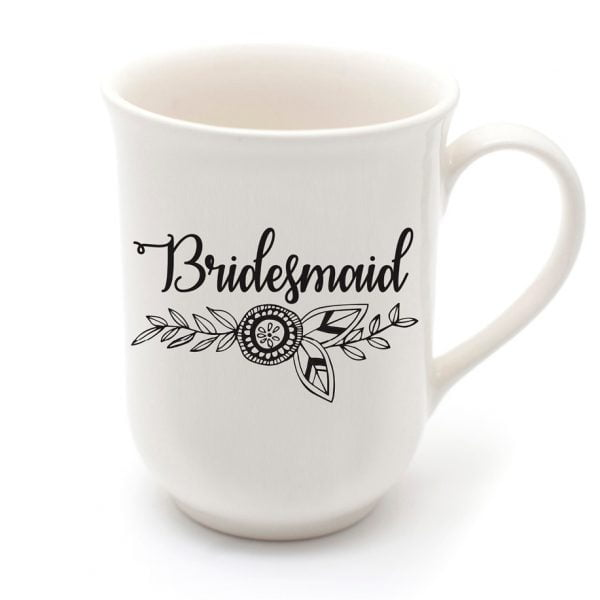 Handmade Coffee Mugs - Wedding gift bridesmaid mug online - Sugar and Vice