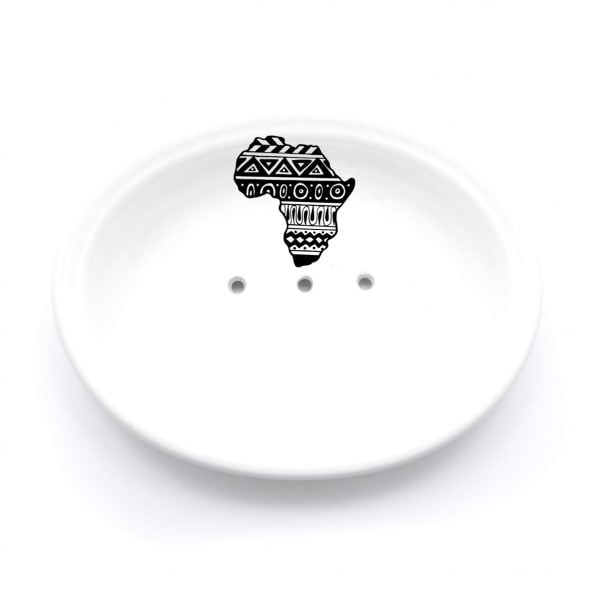 Buy Ceramic Soap Dishes Online - Africa Illustration - Cape Town - Sugar and Vice