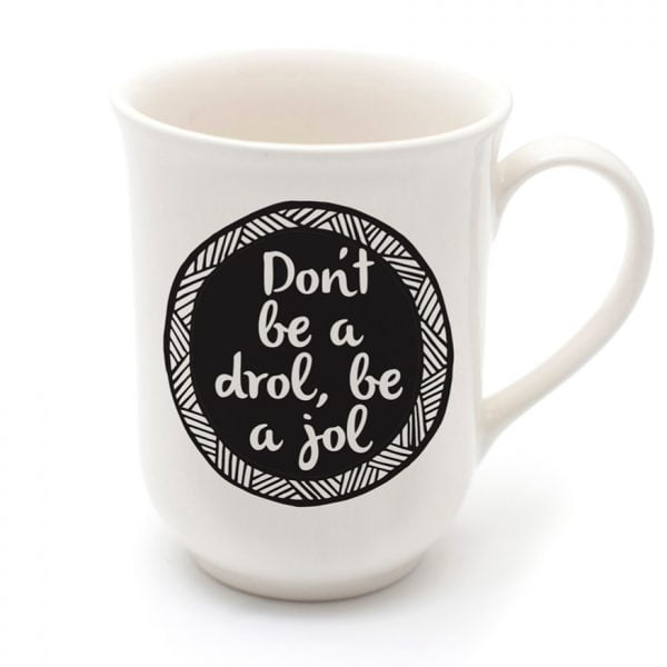 Coffee Cups - Handmade cheeky drol quote cup online - Sugar and Vice - Cape Town