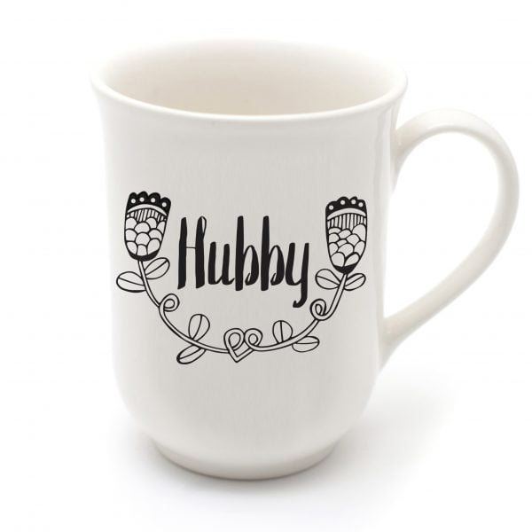 Best Gift for Husband Birthday - Handmade wedding gift hubby mug online - Sugar and Vice - Cape Town