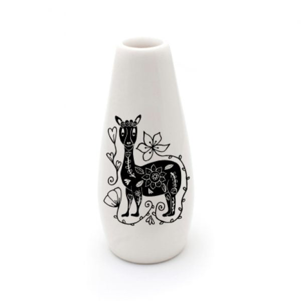 Handmade Llama ceramic vase online - Sugar and Vice - South Africa