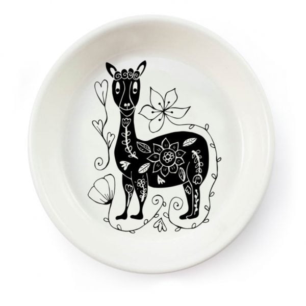 Handmade Llama ceramic bowl online - Sugar and Vice - South Africa
