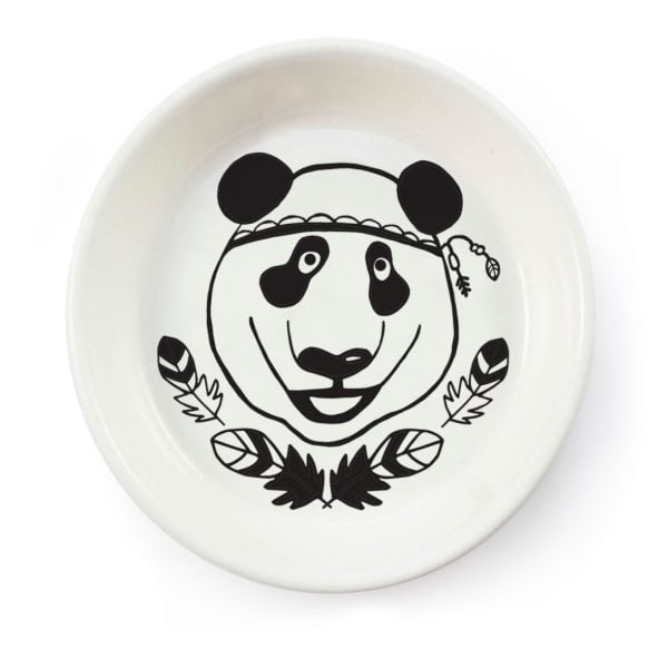 Handmade Panda ceramic bowl online - Sugar and Vice - South Africa