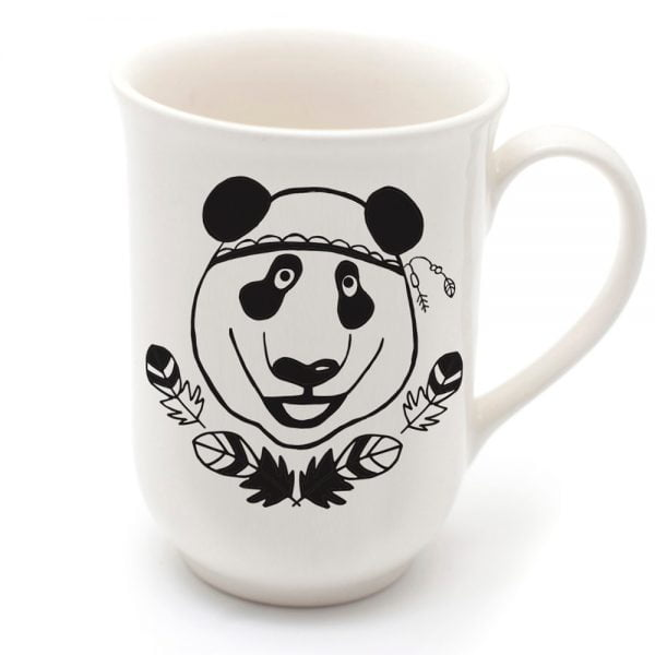 Handcrafted cute panda mug online - Sugar and Vice - Cape Town