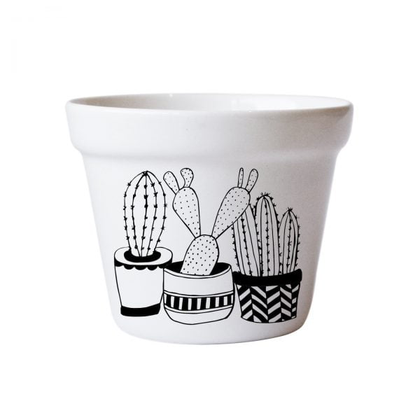 Buy Planters Online - Cactus handmade ceramic planter online - Sugar and Vice - South Africa