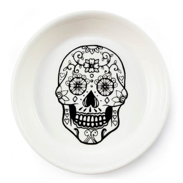 Skull handcrafted ceramic bowl online - Sugar and Vice - Cape Town