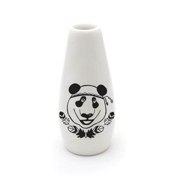 Handmade Panda ceramic vase online - Sugar and Vice - South Africa
