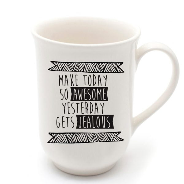 Pretty Coffee Mugs - Handmade awesome quirky quote cup online - Sugar and Vice - Cape Town