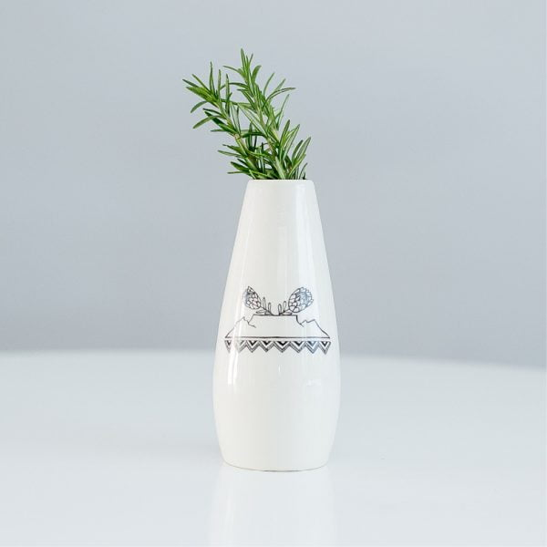 Table Mountain handcrafted vase online - Sugar and Vice - Cape Town