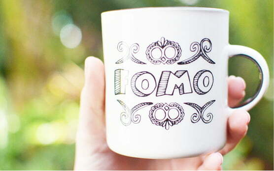 Gifts Online South Africa - featured in Home Magazine - Fomo Ceramic Mug - Sugar & Vice
