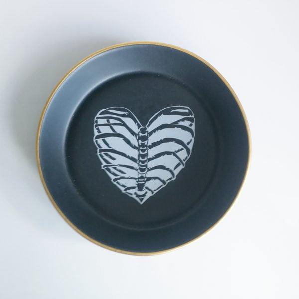 Handmade ribcage heart bowl online - Sugar and Vice - South Africa
