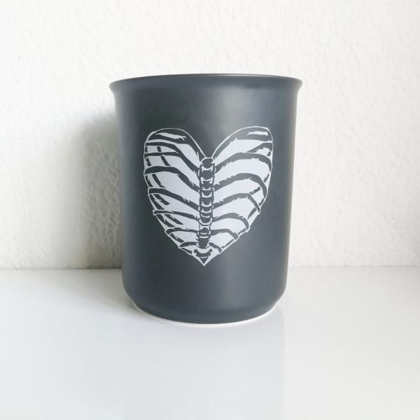 Handmade rib cage utensil holder online - Sugar and Vice - South Africa