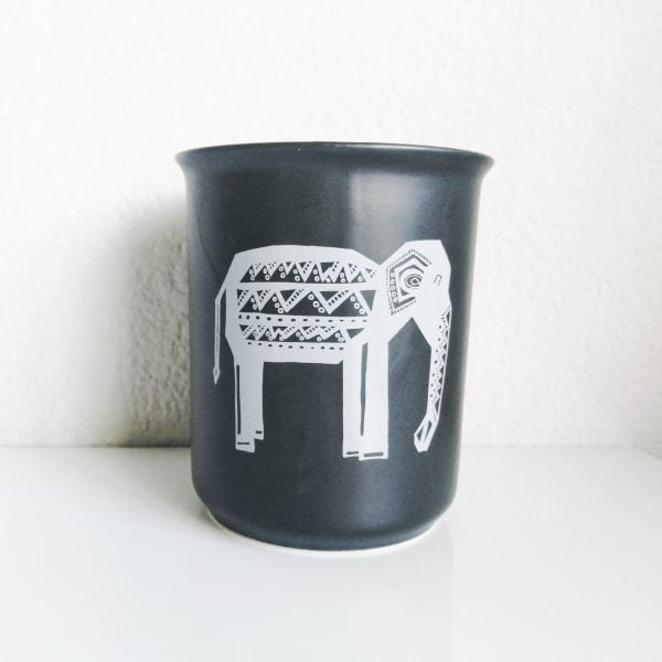Handmade elephant utensil holder online - Sugar and Vice - South Africa