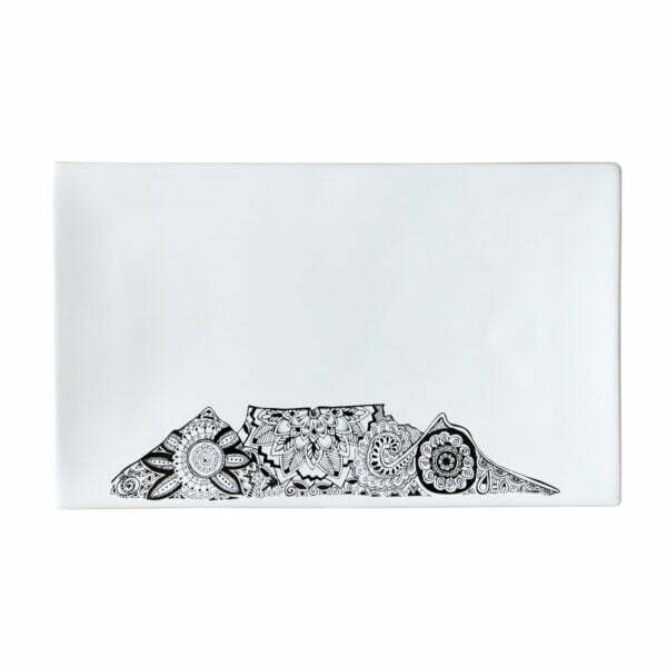 Illustrated Table Mountain souvenir ceramic platter online - Sugar and Vice1