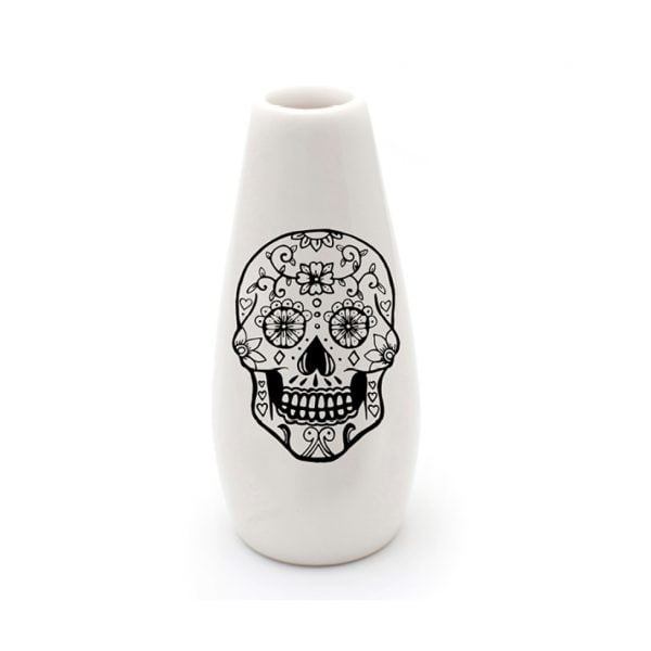 Handmade skull ceramic vase online - Sugar and Vice - South Africa