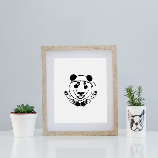 Panda limited edition fine print online - Sugar and Vice - South Africa