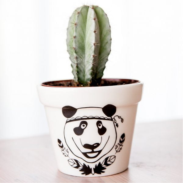 Planters for Sale - Panda handmade ceramic planter online - Sugar and Vice - South Africa