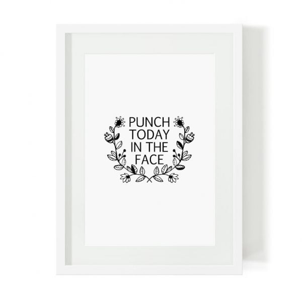 Punch Today limited edition print online - Sugar and Vice - South Africa