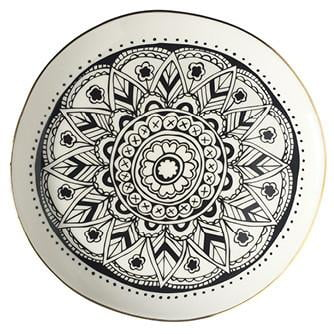 Handmade mandala serving platter online - Sugar and Vice - South Africa