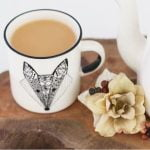 Gifts Online South Africa - featured in Baba & Kleuter Magazine - ceramic fox mug - Sugar & Vice