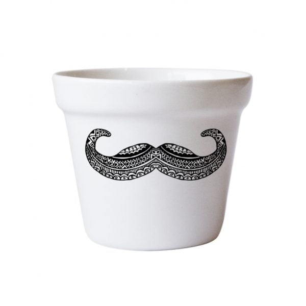 Planters for Sale - Moustache handcrafted planter online - Sugar and Vice - South Africa