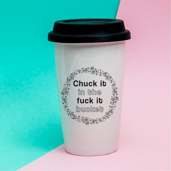 Travel Coffee Mugs Online - Chuck it - Sugar and Vce - Cape Town