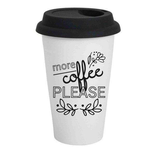 Travel Coffee Mugs Online - More Coffee - Sugar and Vce - Cape Town
