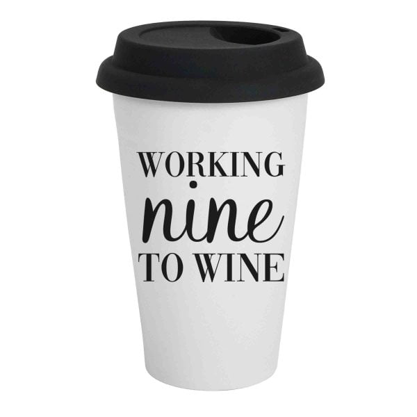 Travel Coffee Mugs Online - Nine to Wine - Sugar and Vce - Cape Town