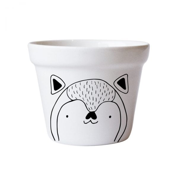 Illustrated Cute Scandi Fox Planter Online - Sugar and Vice.jpg