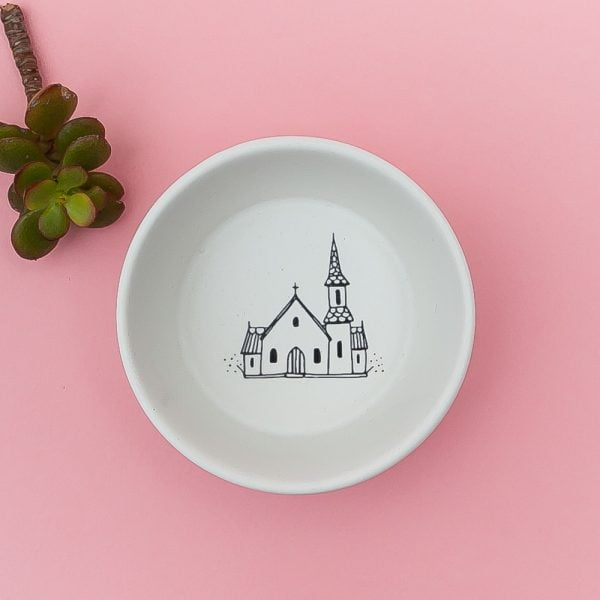 White Church Handmade Pottery bowl online - Cape Town - Sugar and Vice