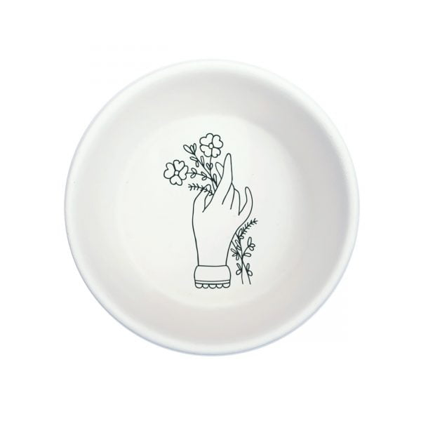 White Hand Handmade Pottery bowl online - Cape Town - Sugar and Vice