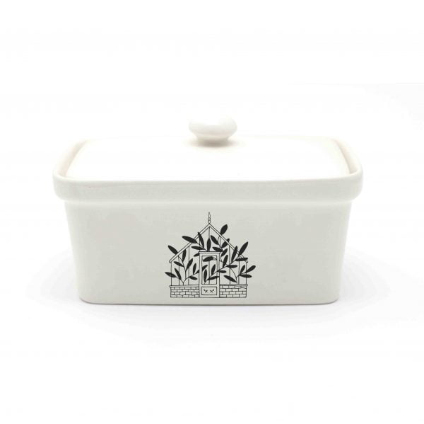 Greenhouse Ceramic Butter Dish Online - Sugar and Vice - Cape Town