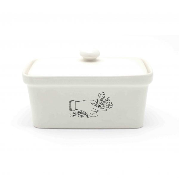 Hand Ceramic Butter Dish Online - Sugar and Vice - Cape Town