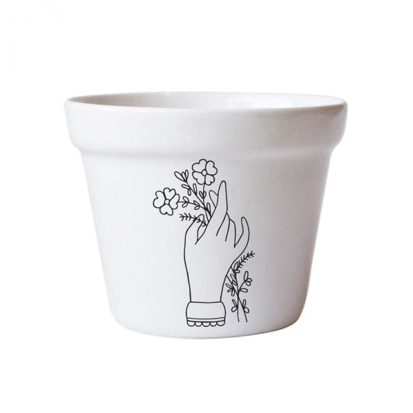 Hand Ceramic Planter Online - Sugar and Vice - Cape Town
