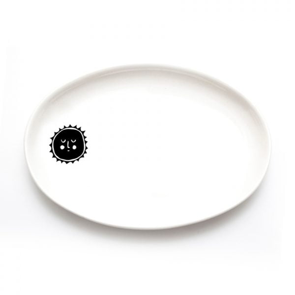 Buy Ceramic Plates Online - Sun Illustration - Cape Town - Sugar and Vice