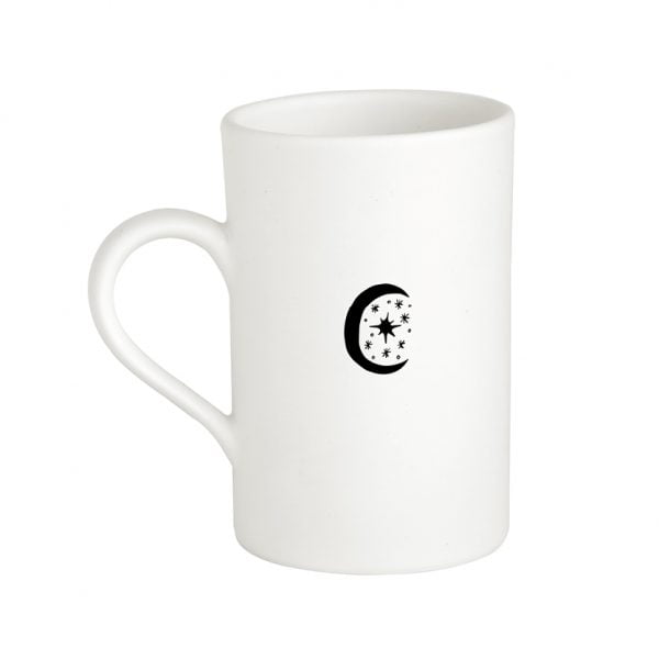 Handmade Ceramic Minimalist Moon Mug Online - Cape Town - Sugar and Vice2