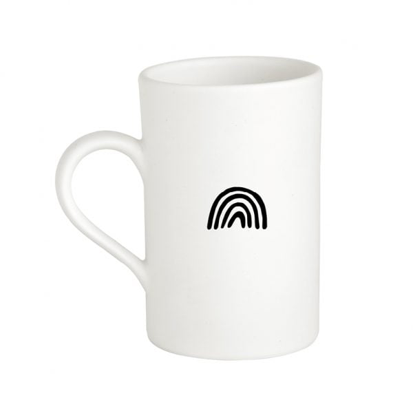 Handmade Ceramic Minimalist Rainbow Mug Online - Cape Town - Sugar and Vice