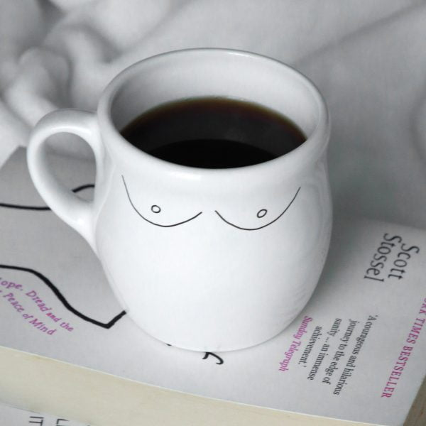 Handmade Ceramic Minimalist Boobs Illustration Mug Online - Cape Town - Sugar and Vice3