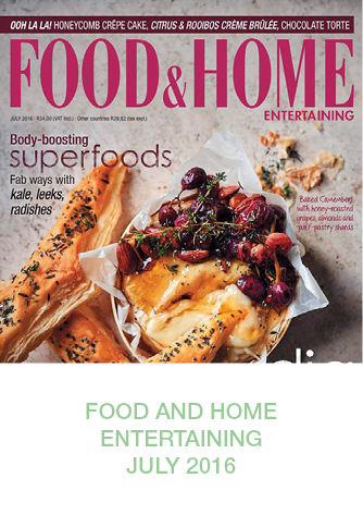 Sugar and Vice Press Food and Home Entertaining July 2016