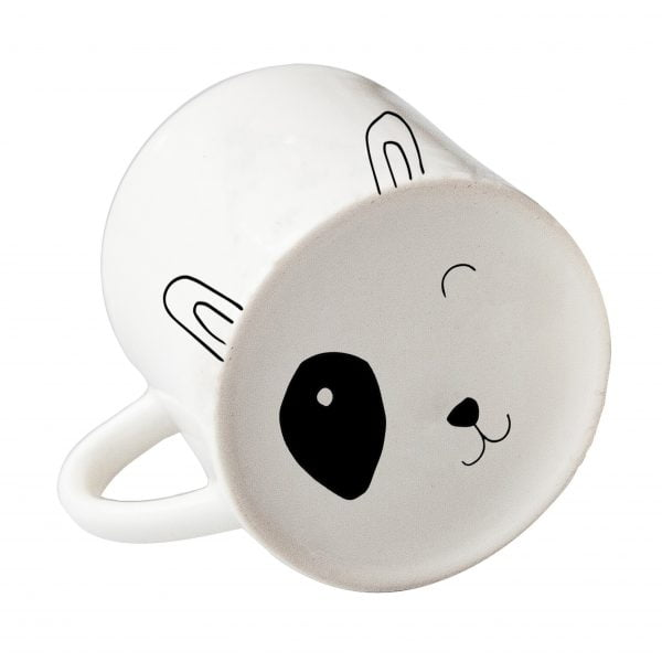 White spotty dog face ceramic mug online - Sugar and Vice3