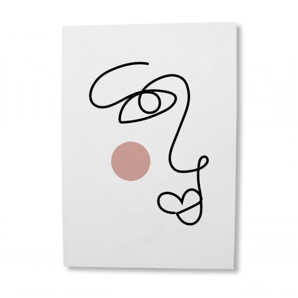 Abstract-Face-Greeting-Card-Sugar-and-Vice-Cape-Town-Online