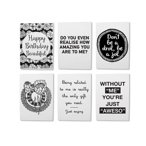 Illustrated Souvenir Greeting Card Online - Sugar and Vice - Cape Town